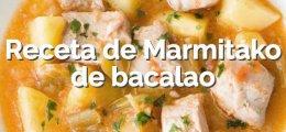 Receta de Marmitako de bacalao
